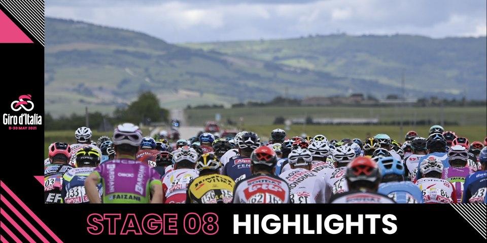 Giro d'Italia 2021   Stage 8   Highlights