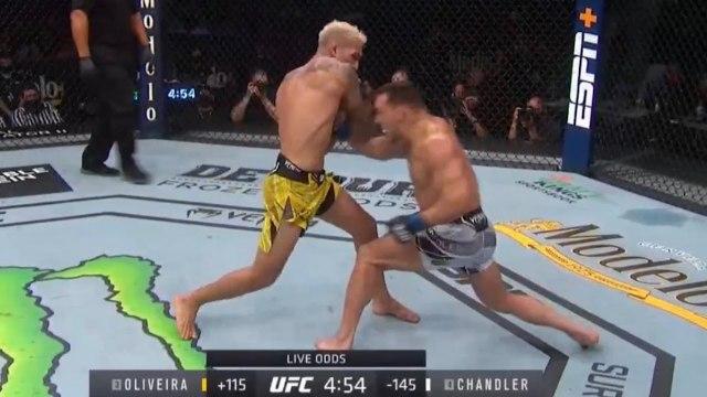 Michael Chandler vs Charles Oliveira (Highlights) - UFC 262