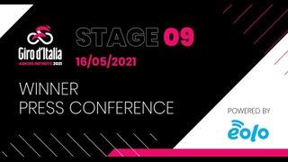 Giro d'Italia 2021 | Stage 09 Press Conference