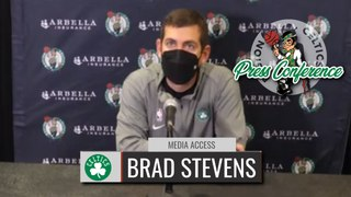 Brad Stevens Pregame Interview | Celtics vs Knicks