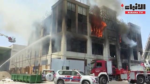 حريق ثالث أيام العيد اندلع في مجمع تجاري وأودى بحياة مصريين