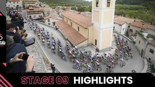 Giro d'Italia 2021 | Stage 9 | Highlights