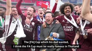 FA Cup 'special' for Leicester chairman Srivaddhanaprabha