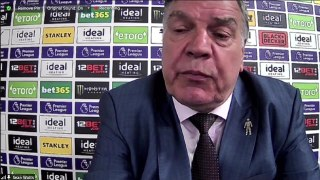 Allardyce frustrated by late Liverpool defeat
