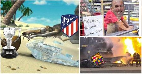 Una lluvia de memes dejó la penúltima jornada de La Liga