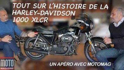 Tout sur la Harley Davidson 1000 XLCR - Un Apéro avec Moto Magazine