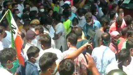 Bengal: TMC supporters pelt stones at CBI office