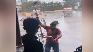 Yeh Rishta Kya Kehlata hai के सेट पर Cyclone Tauktae ने मचाई तबाही; Watch video | FilmiBeat