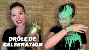 Le discours de Scarlett Johansson aux MTV Movie Awards ne s'est pas passé comme prévu