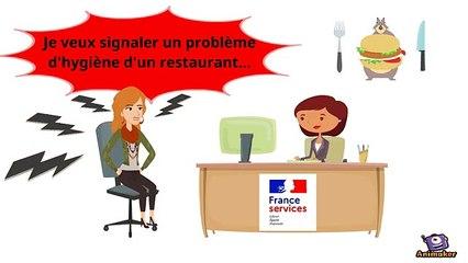 DGCCRF - L'accueil des consommateurs au sein du réseau France Services