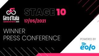 Giro d'Italia 2021 | Stage 10 Press Conference