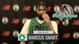 Marcus Smart Shootaround Interview   Celtics vs Wizards