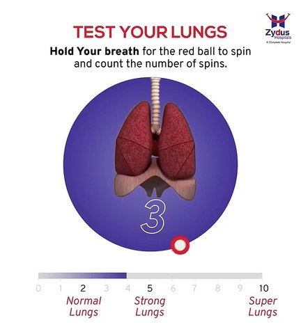 Lung Test: உங்கள் நுரையீரல் எப்படியிருக்கு?.. இப்பவே சோதனை செய்யலாமா?
