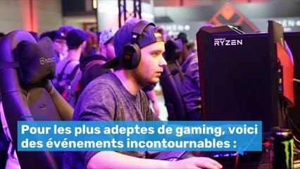 Les plus gros événements de gaming