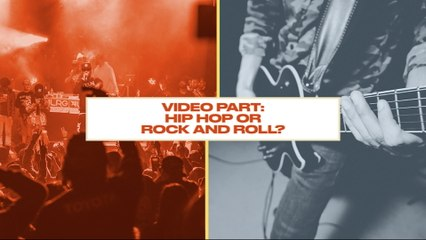 Either Or: Would you Rather have Hip Hop or Rock Music for Your Video Part?
