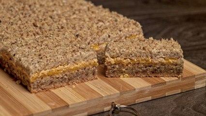 Starinske žute štangle / Old fashioned yellow cookie bars