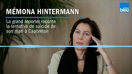 Mémona Hintermann raconte la tentative de suicide de son mari