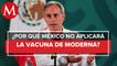 México no necesita comprar vacunas con otras farmacéuticas, dice López-Gatell