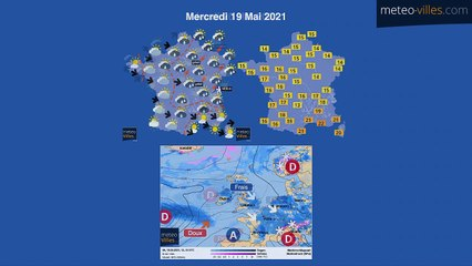bulletin meteo de mardi 18 mai 2021