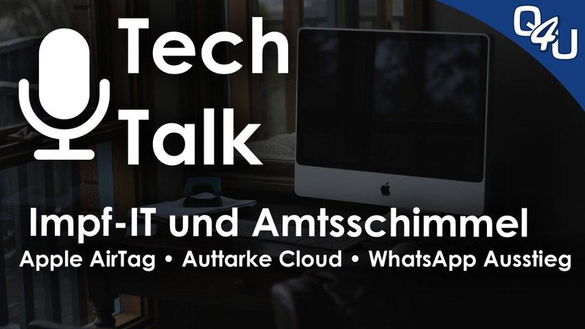 Impf-IT und Amtsschimmel, AirTag, Luca, GameStop, Discord, WhatsApp | QSO4YOU.com Tech Talk #39