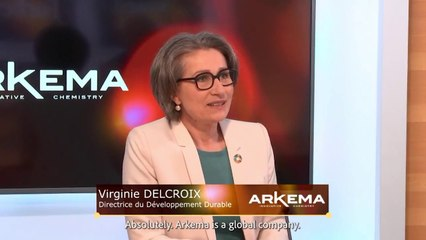 Interview with Virginie Delcroix, Vice President, Sustainable Development, for the Business Inside program of FORBES