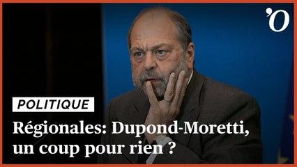 Régionales 2021: Dupond-Moretti dans les Hauts-de-France, un coup pour rien ?