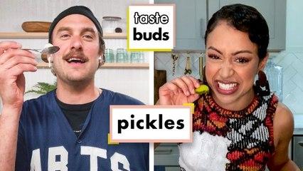Liza Koshy & Brad Try 9 Types Of Pickles