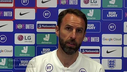 Southgate praises players who missed out on England squad