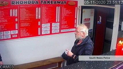 Rhondda man who pointed imitation firearm at a kebab shop owner
