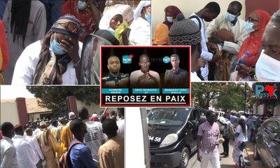 La levée du corps des victimes de Leral TV : les témoignages de Seydou Guéye, Bamba Kassé et Bougane Guéye