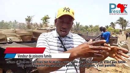 Lutte contre le chômage : beaucoup de jeune s'activent dans la production de poissons fumés un secteur informel tapis dans l'ombre