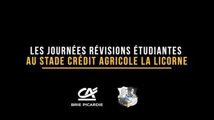 Journées Révisions Etudiantes au Stade Crédit Agricole la Licorne !