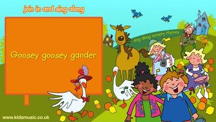 Kidzone - Goosey Goosey Gander