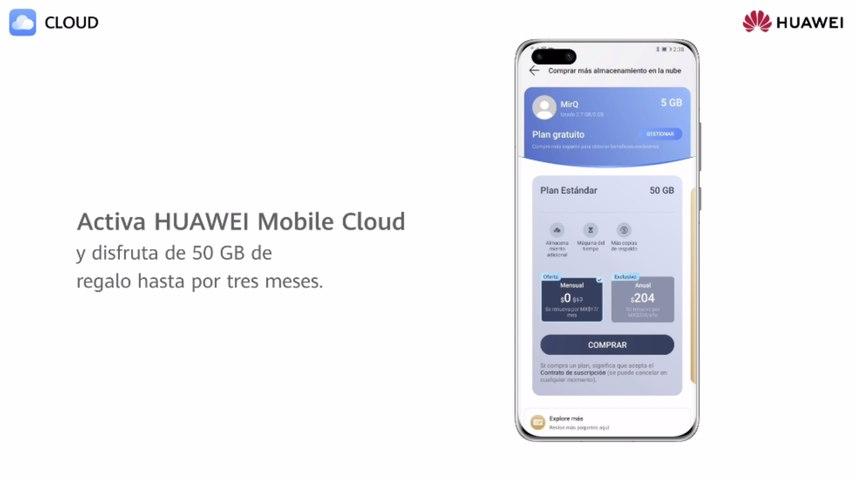 ¡Huawei Mobile Cloud te regala 50 GB de almacenamiento!