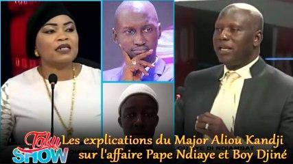 Les explications de Major Aliou Kandji sur l'affaire Pape Ndiaye et Boy Djiné - Taku Show