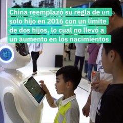 China anuncia  la política de tres hijos