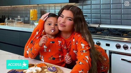 Kylie Jenner's Daughter Stormi Is The Cutest Pizza Chef
