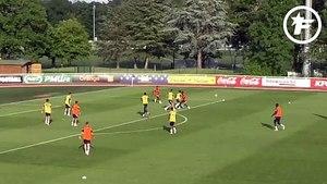 Équipe de France : Ousmane Dembélé dans ses œuvres, la lucarne de Kingsley Coman