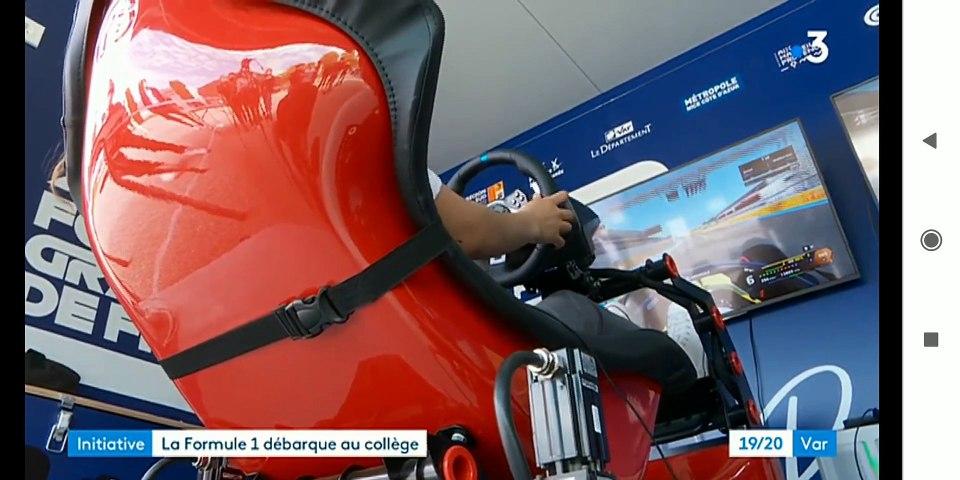 Initiative : La Formule 1 débarque au collège