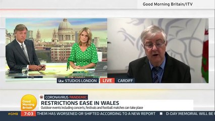 Mark Drakeford eases Covid restrictions in Wales but will not lift all restrictions on June 21