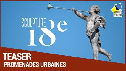 Sculptures 18ème à ciel ouvert autour du Château de Lunéville et à Nancy