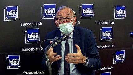Gilles Pennelle, candidat du Rassemblement National aux régionales en Bretagne