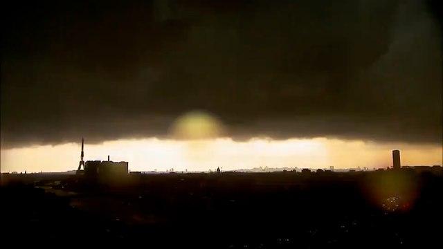 Orages sur l'Île-de-France : Paris, Saint-Cloud, Nanterre... sous des pluies diluviennes