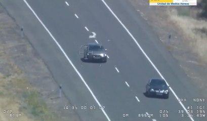 VÍDEO: dos conductores se pican a alta velocidad llegando a invadir el carril contrario durante kilómetros