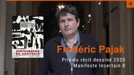 Frédéric Pajak : Prix du récit dessiné 2020 (teaser)