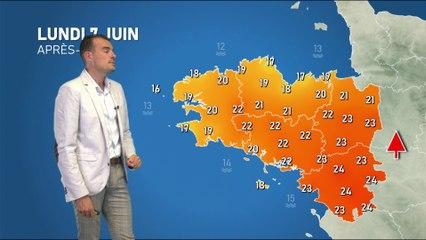Illustration de l'actualité La météo de votre lundi 7 juin 2021