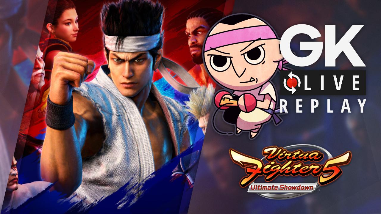 Gk live (replay) – Virgile distribue les bourre-pifs et évite les ring-out sur Virtua Fighter 5 : Ultimate Showdown