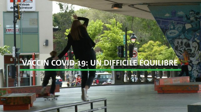 Vaccin COVID-19: un difficile équilibre