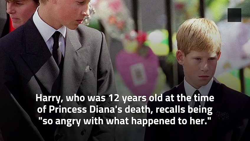 Prince Harry Abused Drugs and Alcohol to Cope With His Mother's Death