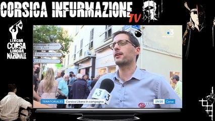 Inauguration de la permanence à Aiacciu de @Corsica_Libera, liste @Fa_Nazione avec @JeanGuyTalamoni
